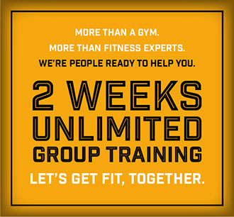 2 Weeks Unlimited Group Training offer
