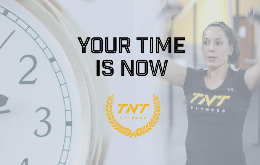 Your time is now